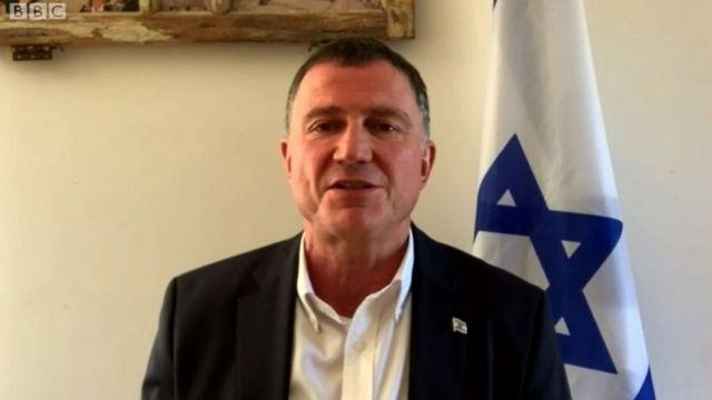 El ministro de Salud de Israel, Yuli Edelstein