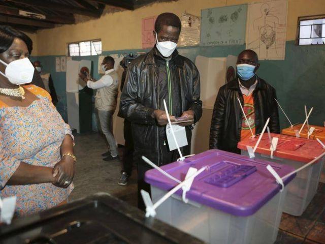 Jaunākie vēlēšanu rezultāti Zambijā: