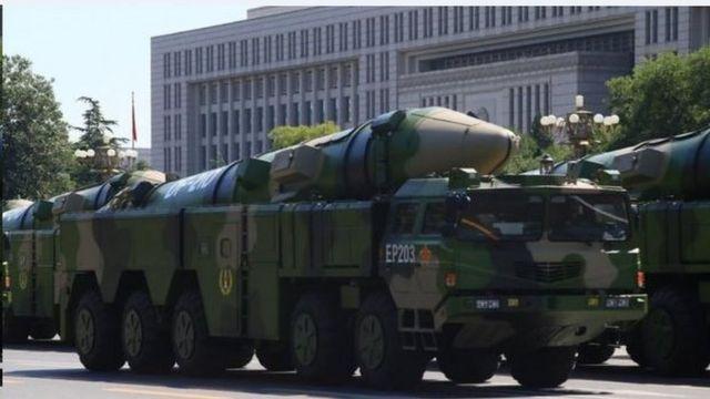 东风21D弹道导弹