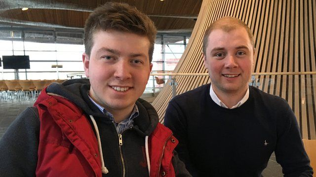 Theo Davies-Lewis and Greg Thomas