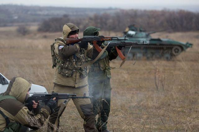 Пророссийские силы под Иловайском, 2014 год