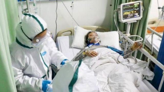Patient of Coronavirus dey receive treatment for hospital