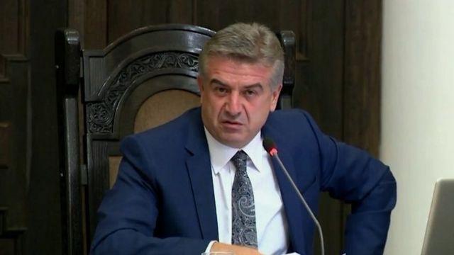 Ermənistanın yeni baş naziri Karen Karapetyan korrupsiya ilə mübarizəni əsas vəzifələrindən biri elan edib