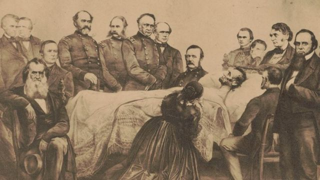 Retrato do velório de Lincoln