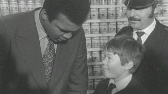 Muhammad Ali in Hedge End