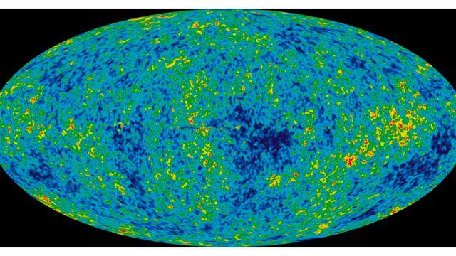 Radiação cósmica de fundo em micro-ondas