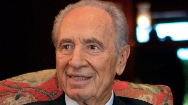 इसराइल के पूर्व राष्ट्रपति और प्रधानमंत्री शिमोन पेरेज़