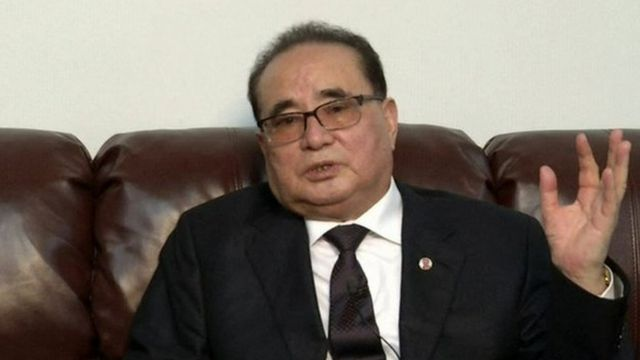North Korea Foreign minister, Ri Su-yong