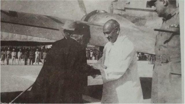 سردار پٹیل اور میر عثمان علی خان، حیدرآباد، انڈیا