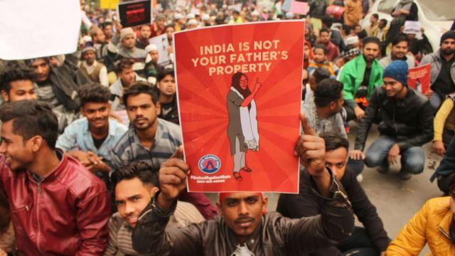 दिल्ली-जगह: ''भारत आपके पिता की संपत्ति नहीं है''