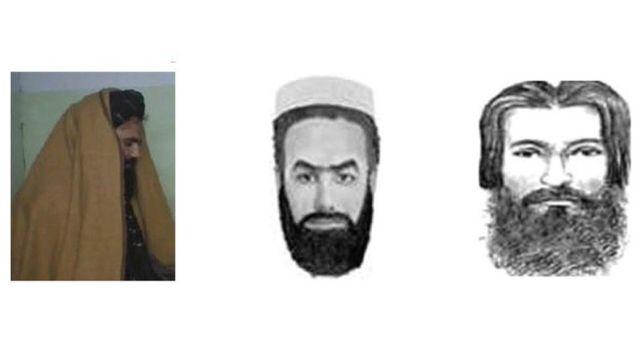 تصویرهایی که وزارت دادگستری آمریکا و اف بی آی از سراج الدین حقانی منتشر کرده اند