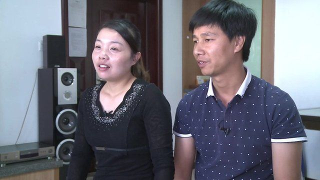Chinese couple in Kenya
