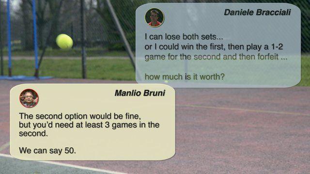 Skype messages between Manlio Bruni and Daniele Bracciali