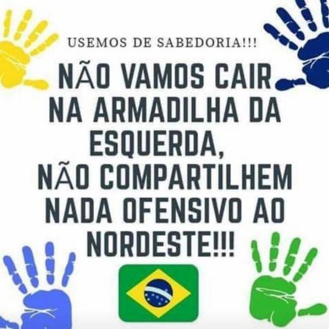 Montagem compartilhada em páginas pró-Bolsonaro