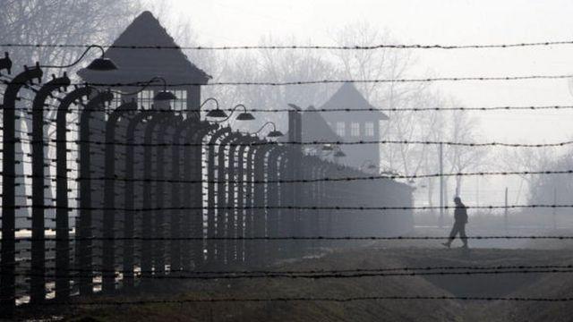 Le camp de concentration où plusieurs juifs ont été tués par les nazis