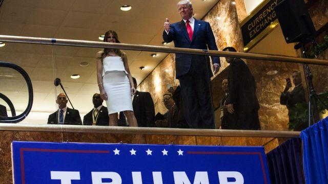 トランプ氏が2015月6月に大統領選出馬を正式表明したことで、米国政治は変わった
