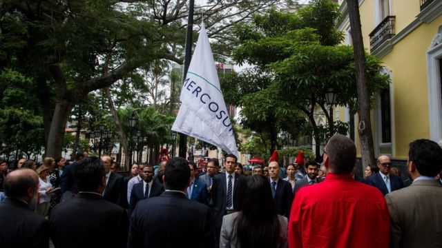 Venezuela iza la bandera del Mercosur