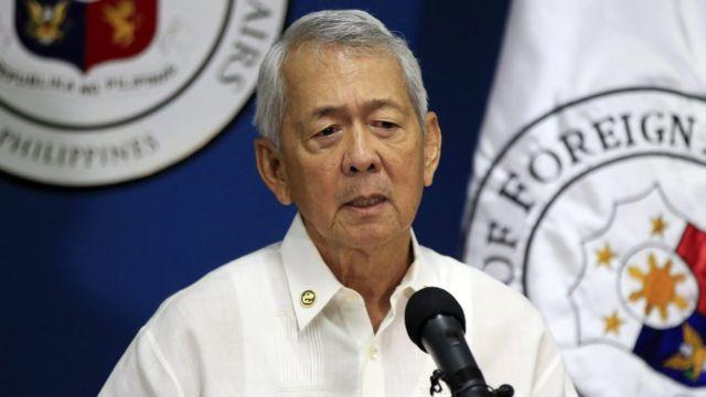El fallo de La Haya es vinculante, recordó el secretario de Exteriores filipino, Perfecto Yasay.
