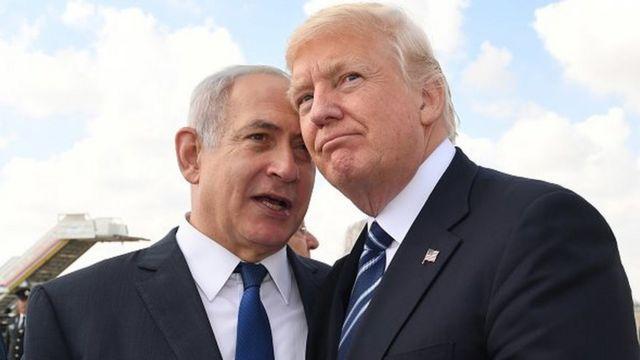 دونالد ترامپ و بنیامین نتانیاهو