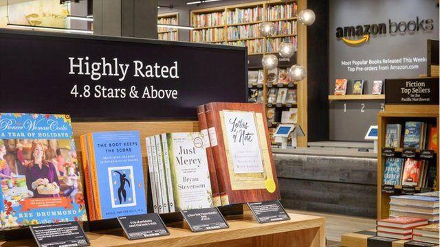 Books in Amazon bookshop