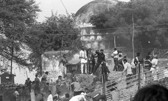 అయోధ్య, బాబ్రీ మసీదు, ఆర్ఎస్ఎస్
