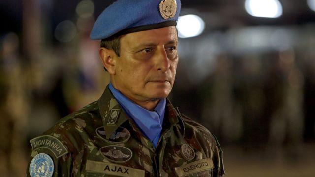 General brasileiro Ajax Porto Pinheiro