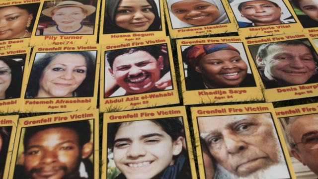 Hình những người thiệt mạng trong vụ cháy
