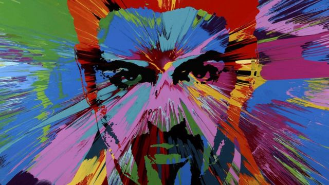 George Michael portrait by Damien Hirst sells for $580,000