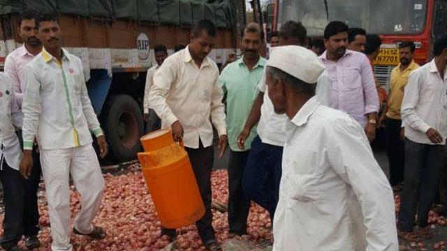 महाराष्ट्र में किसानों की हड़ताल