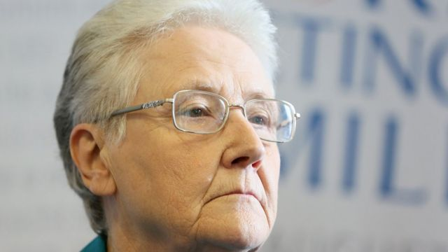 Survivor of clerical abuse, Marie Collins