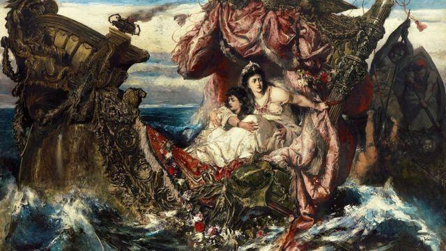 'O Naufrágio de Agripina', de Gustave Wertheimer,