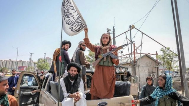 Taliban guerrillas