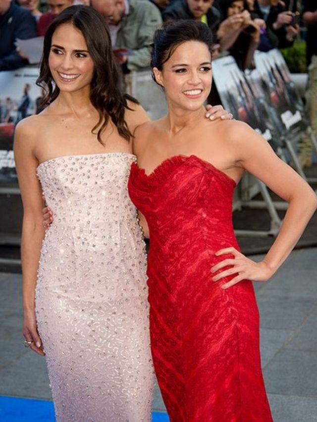 Jordana Brewster y Michelle Rodriguez