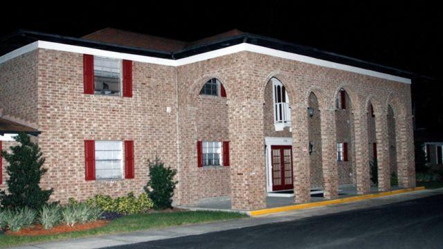 Casa do suspeito em Tampa