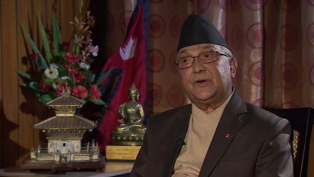 Interview with Nepal's Prime Minister KP Oli