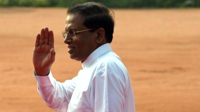 Prezident Maithripala Sirisenan