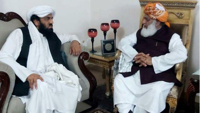 حافظ حمد اللہ اور مولانا فضل الرحمان