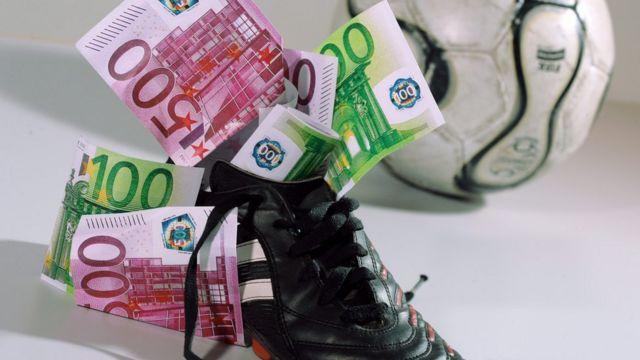бутса с деньгами