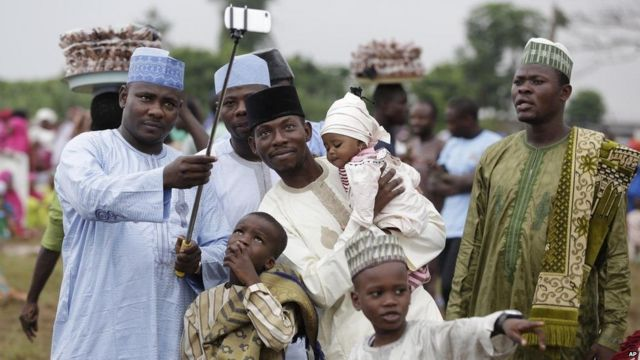 Les enfants s'amusent beaucoup lors de l'Aid-El-Fitr, la fête marquant la fin du ramadan