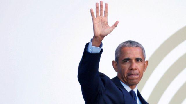 Barack Obama ndiye rais wa pili wa zamani wa Marekani kutoa mhadhara huo, baada ya Bill Clinton