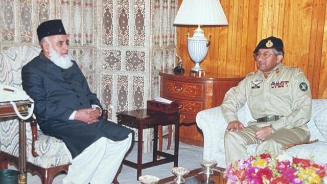 پرویز مشرف اور رفیق تارڑ