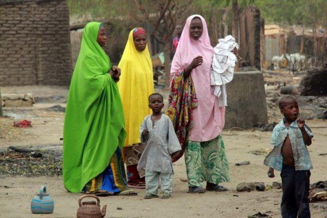 Mata da yara a Maiduguri na Jihar Borno