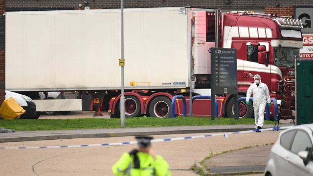 SMS, Kematian, truk kontainer, imigran Vietnam, Inggris