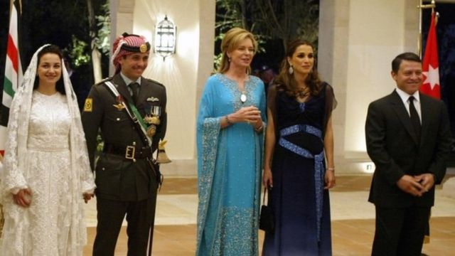 Picture of the ruling family in Jordan
