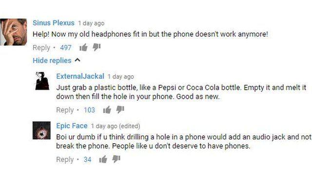Captura de pantalla de Youtube