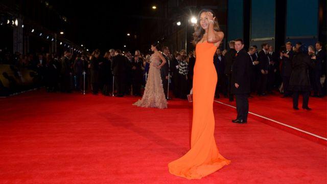 Naomie Harris on the red carpet