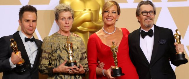 Ista četiri glumca su prošle godine osvojila nagrade Bafta i Oskar