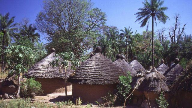 Village in Africa.