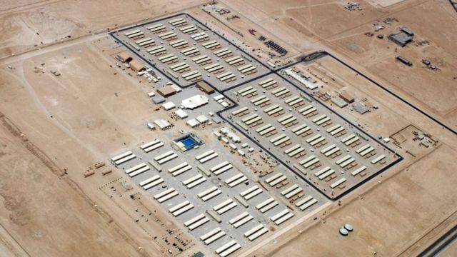 Complejo desde donde se gestionan las operaciones militares estadounidenses en Al Udeid.