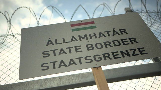 State border sign